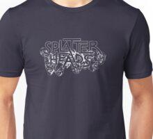 Splatterheads (white) Unisex T-Shirt