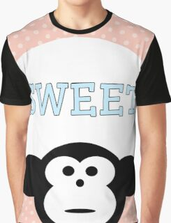 Sweet - Monkey Graphic T-Shirt