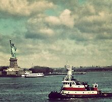 Liberty Island, New York City by crashbangwallop