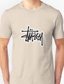 stussy #black Unisex T-Shirt