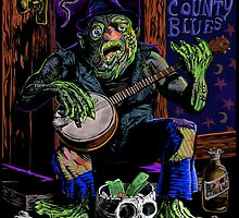 ARKHAM COUNTY BLUES by charlespinion