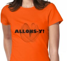 Allons-y! || Doctor Who Womens Fitted T-Shirt