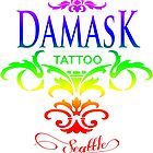 Rainbow Pride Damask Tattoo Seattle by damasktattoo