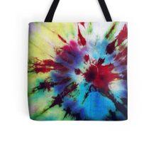 Totin' Tie Dye  Tote Bag