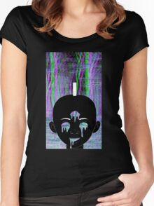 Black Kirikou Women's Fitted Scoop T-Shirt