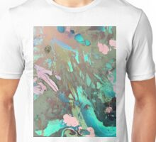 Carribean psychedelic marble ink Unisex T-Shirt