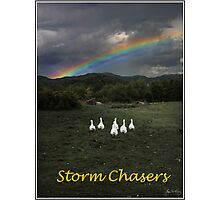 Storm Chasers Poster Photographic Print