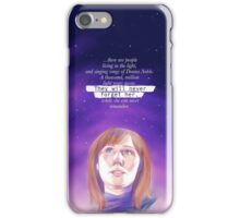 Never forget Donna Noble iPhone Case/Skin