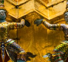 Thailand. Temple of the Emerald Buddha Sticker