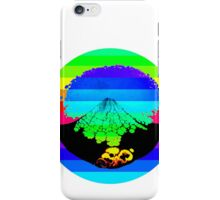Rainbow Volcano  iPhone Case/Skin