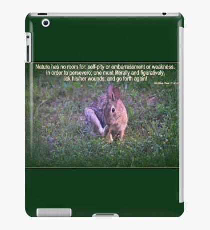 Go Forth iPad Case/Skin