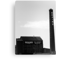 Brains Brewery, Cardiff, Wales Canvas Print