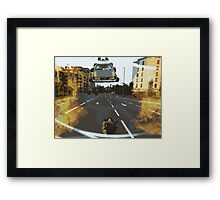 BTTF Back to the Drawing Board Framed Print