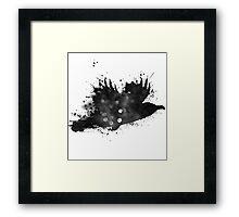 Starlit Raven Framed Print