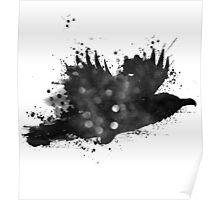 Starlit Raven Poster