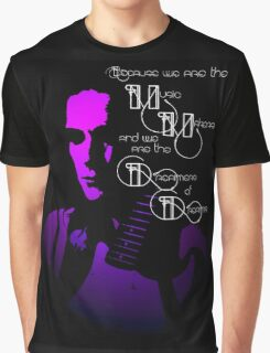 Living in the Purple Ambience of life Graphic T-Shirt