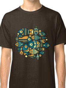 Colorful cute fish Classic T-Shirt