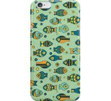 Colorful cute fish iPhone Case/Skin