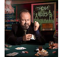 The poker cheat Photographic Print