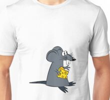 mouse with cheese Unisex T-Shirt
