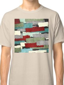 Colorful Patches Abstract Classic T-Shirt