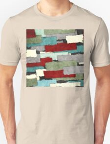 Colorful Patches Abstract Unisex T-Shirt