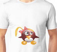 penguin with hat Unisex T-Shirt
