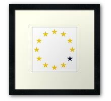 UK Referendum  Framed Print