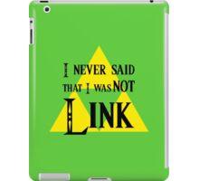 not link???? iPad Case/Skin