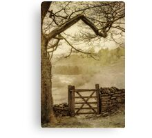 Misty delight Canvas Print