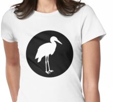 Stork Womens Fitted T-Shirt