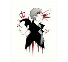 BBC Sherlock - The Reichenbach Fall Art Print