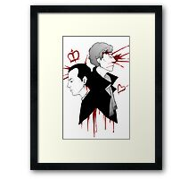 BBC Sherlock - The Reichenbach Fall Framed Print