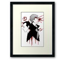 BBC Sherlock - The Reichenbach Fall Framed Print