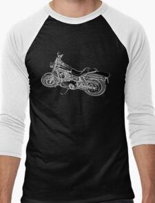 Urs' Harley (black) Men's Baseball ¾ T-Shirt