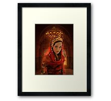 Hadassah - The Girl Who Became Queen Esther Framed Print
