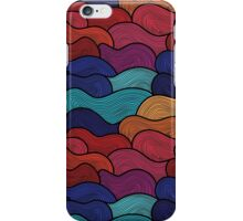Colorful wave pattern iPhone Case/Skin