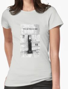 Telephone Love Womens Fitted T-Shirt