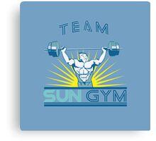 Team Sun Gym Canvas Print