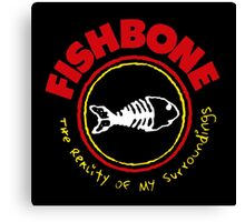 FISHBONE Canvas Print