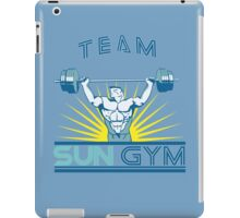 Team Sun Gym iPad Case/Skin