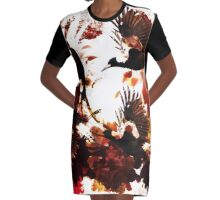 Magpie Fly Graphic T-Shirt Dress