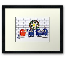 Cheat Ghost Framed Print