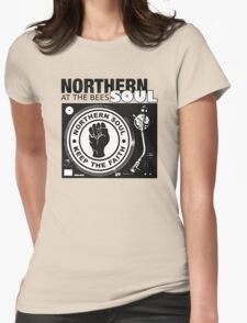 Northern Soul At The Bees Soul Womens Fitted T-Shirt