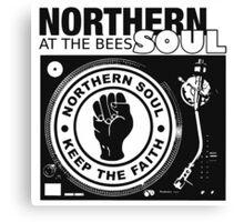 Northern Soul At The Bees Soul Canvas Print