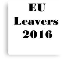 EU Referendum 2016 Canvas Print