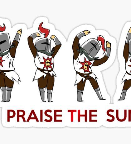 Praise the sun Sticker