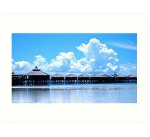 Clouds, Mabul Island, Phillipines Art Print
