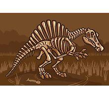 Extinct Lil' Spinosaurus Photographic Print