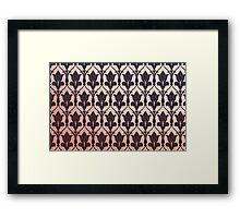 221B Baker Street Wallpaper Framed Print